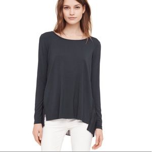 • Club Monaco • Kassandra Pleated Back Blouse S